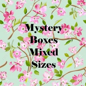 Reseller Mystery Boxes Mixed Sizes Mall Brands